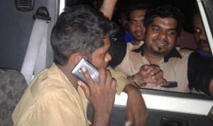 accident pikupvan driver