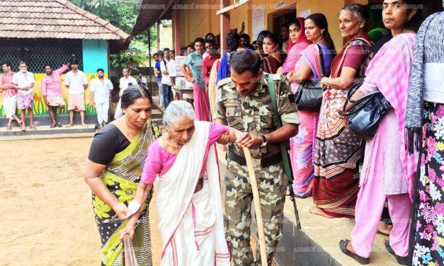 ഗുരുവായൂരില് പോളിംഗ് ശതമാനത്തില് വര്ധന – 73.13%