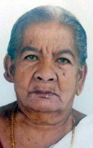 kunju obituary