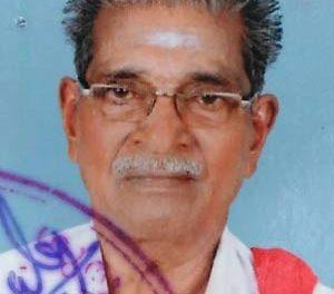 ആദ്യകാല  സി പി ഐ നേതാവ് എം കെ ഷന്മുഖന് നിര്യാതനായി