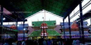 Ilumination gururvayur temple