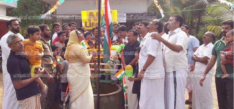 ഇന്ത്യയുടെ 70-ാം സ്വാതന്ത്ര്യ ദിനം ആഘോഷിച്ചു