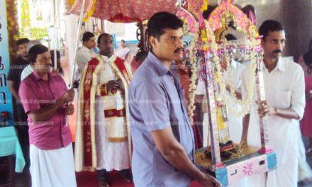പാലയൂര് തീര്ഥകേന്ദ്രത്തില് വിശുദ്ധ കുരിയാക്കോസ് സഹദായുടെ തിരുന്നാള് ആഘോഷിച്ചു