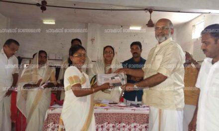 മന്ദലാംകുന്ന് ജി.എഫ്.യു.പി സ്കൂളിലേക്ക് സൌണ്ട് സിസ്റ്റം സംഭാവന ചെയ്തു