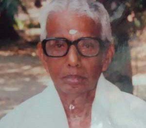 പഴയ കാല കമ്യൂണിസ്റ്റ് നേതാവ് പിഷാരത്ത്  മാധവ പിഷാരടി (95) നിര്യാതനായി