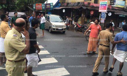 ബീഫ് വില്പന – ചാവക്കാട് ബി ജെ പി കോണ്ഗ്രസ് സംഘര്ഷം