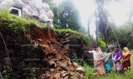 മന്ദലാംകുന്ന് പാലം അപ്രോച് റോഡ് – പഞ്ചായത്ത് യോഗത്തില് ബഹളം