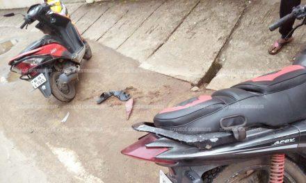 വടക്കേകാട് ബൈക്കുകള് കൂട്ടിയിടിച്ച് നാല് പേർക്ക് പരിക്ക്