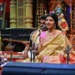 ചെമ്പൈവേദിയെ സംഗീതാസാന്ദ്രമാക്കി യുവസംഗീതജ്ഞ എം ജെ നന്ദിനി